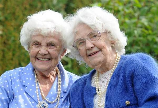 Seniausios dvynės pasaulyje